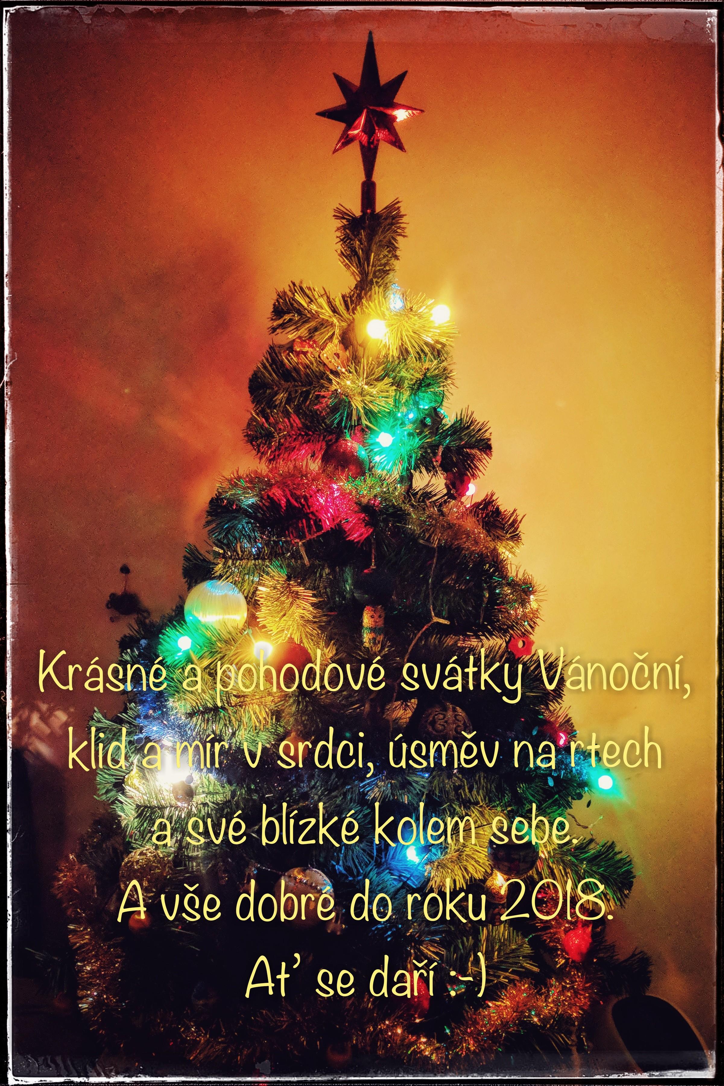 Šťastné a veselé Vánoce 2017