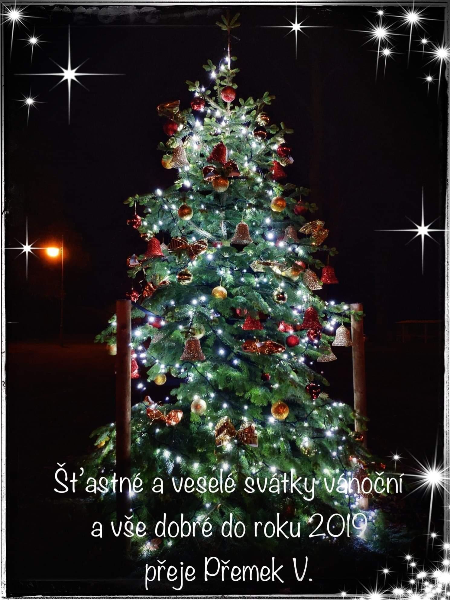 Šťastné a veselé vánoce 2018